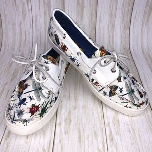 Loudmouth Vienna Bug Sailor Shoes Size 10.5